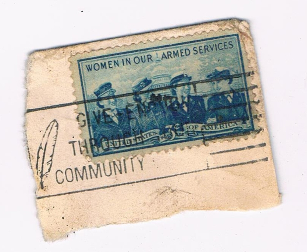 WOMEN IN ARMED FORCES STAMP